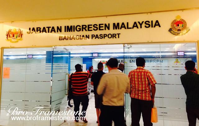 Renew Passport di Jabatan Imigresen Malaysia