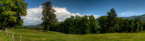 trees summer sky panorama mountains color green nature field grass clouds rural fence landscape view tennessee atmosphere sunny hills pasture valley overlook appalachia