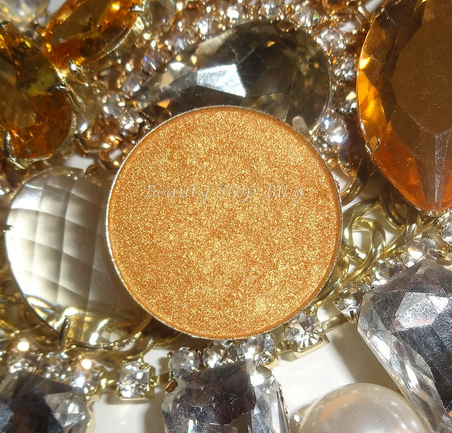 review resenha sombra eyeshadow hot pot 18 karat gold da coastal scents beauty stop blog bruna reis