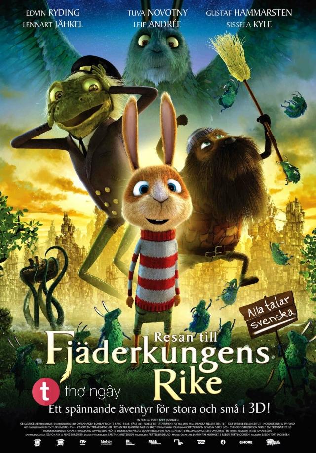 Phim Hành Trình Đến Vương Quốc Fjaderkungens - Beyond Beyond Aka Resan Till Fjäderkungens Rike