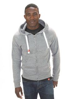 Sportiqe Gray Zip-Up Sweatshirt Stafford
