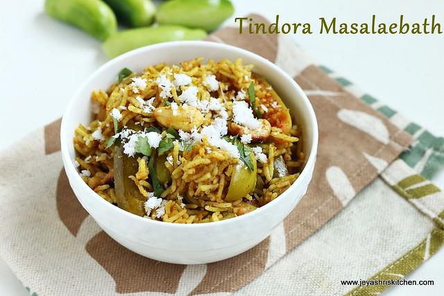tindora-rice