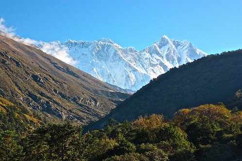 good morning Everest and Lhotse