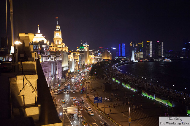 Looking down the Bund