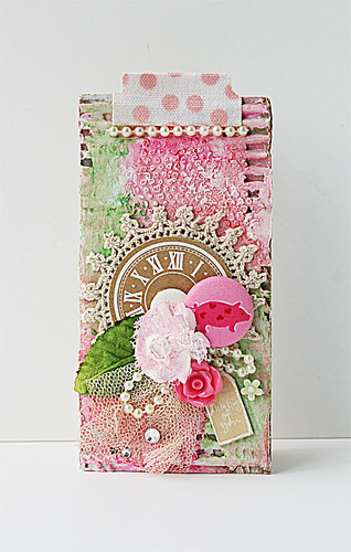 Mixed media card for The Crafter's Workshop