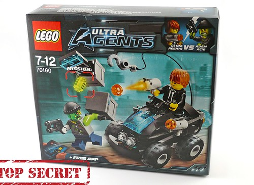 LEGO Ultra Agents 70160 Riverside Raid box01