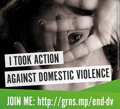 Take action on domestic violence
