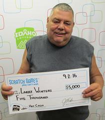 Larry Winters - $5,000 Hot Cash