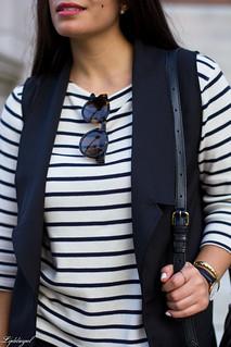 long black vest, striped shirt, white mules, black pants-8.jpg