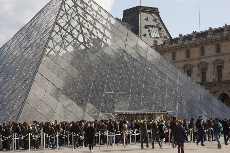 Louvre, Paris, sicherheit