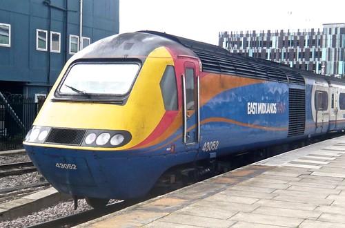 Class 43 052 'East Midland Trains' HST Diesel Multiple Unit on 'Dennis Basford's railsroadsrunways.blogspot.co.uk'