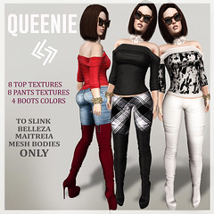 LEGENDAIRE QUEENIE OUTFIT WITH BOOTS
