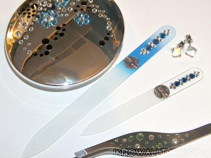 Mont Bleu Crystal Glass Nail Files  (1)