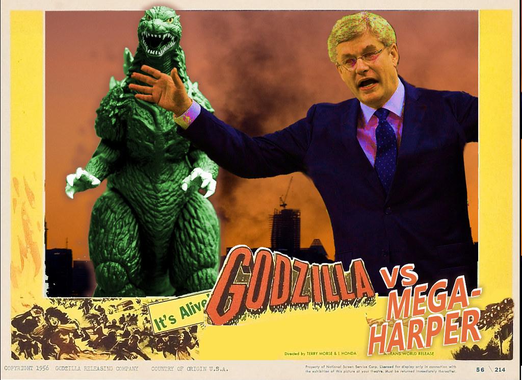 Godzilla Vs. Harper