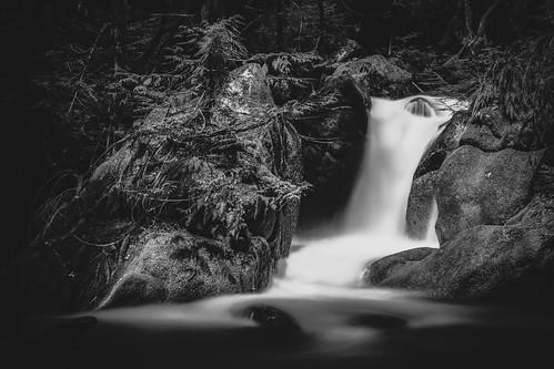 longexposure blackandwhite motion nature monochrome canon flow waterfall rocks pnw canonef2470mmf28lusm deceptionfalls bwnd1000x canoneos5dmarkiii johnwestrock