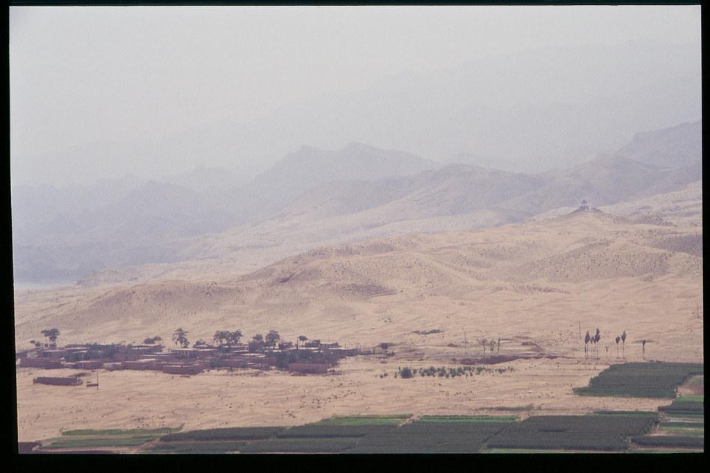 La Chine à vélo - de Pékin à Urumqi - dunes et cultures