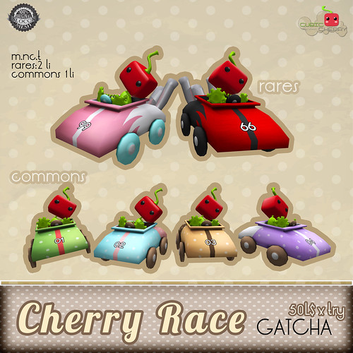 Cherry race gatcha [june 19th] @ Level UP