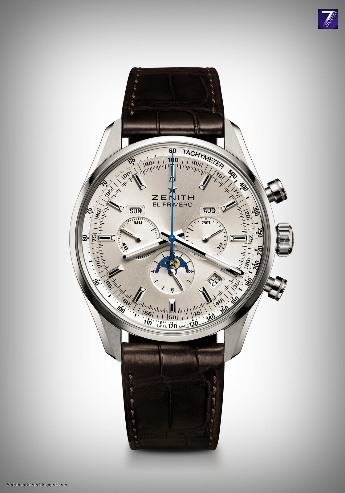 Watches 7 zenith el primero 410 chronograph for Zenith watches