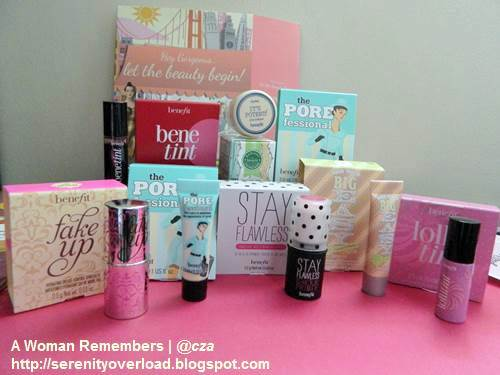 Benefit_tint_eyecream_concealer_balm-_BB-cream_primer,BDJ box, Benefit cosmetics,Belle de Jour, June 2014