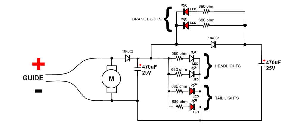 wanting to make led exhaust flash - master classes