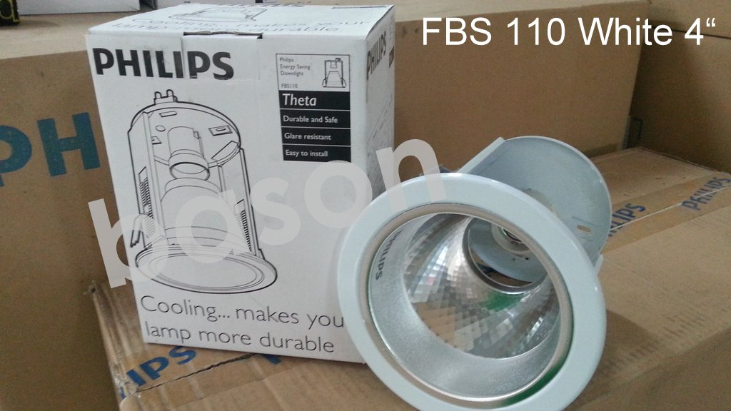 PHILIPS LIGHTING FIXTURES / Downlight - SIMbat | FBS | QBS | CONTEMPO | SAKLAR | DLL