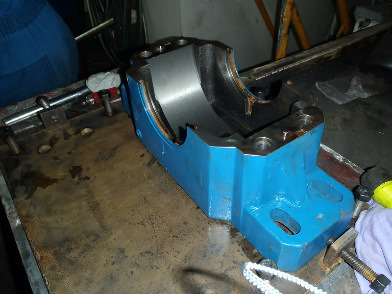 Propulsion Shaft Replacement Pedastal