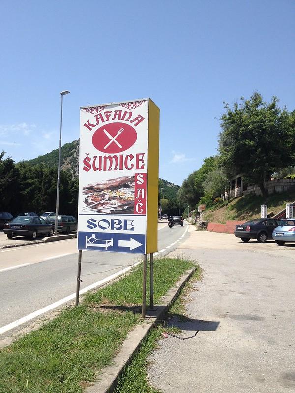 Šumice Kafana, Montenegro