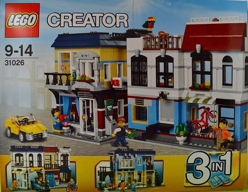 LEGO Bike shop and Cafe (31026)