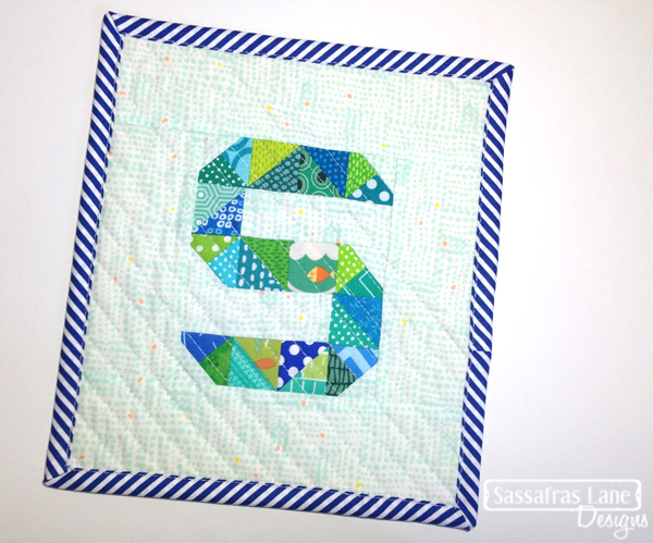 S is for Shayla Mini Quilt