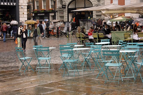 Rainy Covent Garden