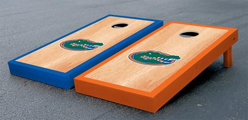 Florida UF Gators Cornhole Game Set Hardcourt Gator