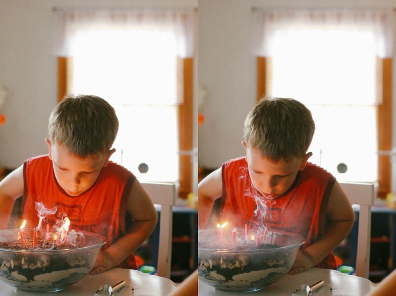 Calvin candles 2