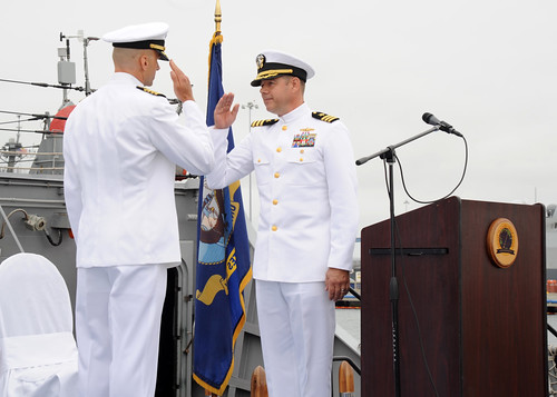 ATG San Diego Holds Change of Command