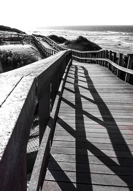 On the Boardwalk in the Afternoon