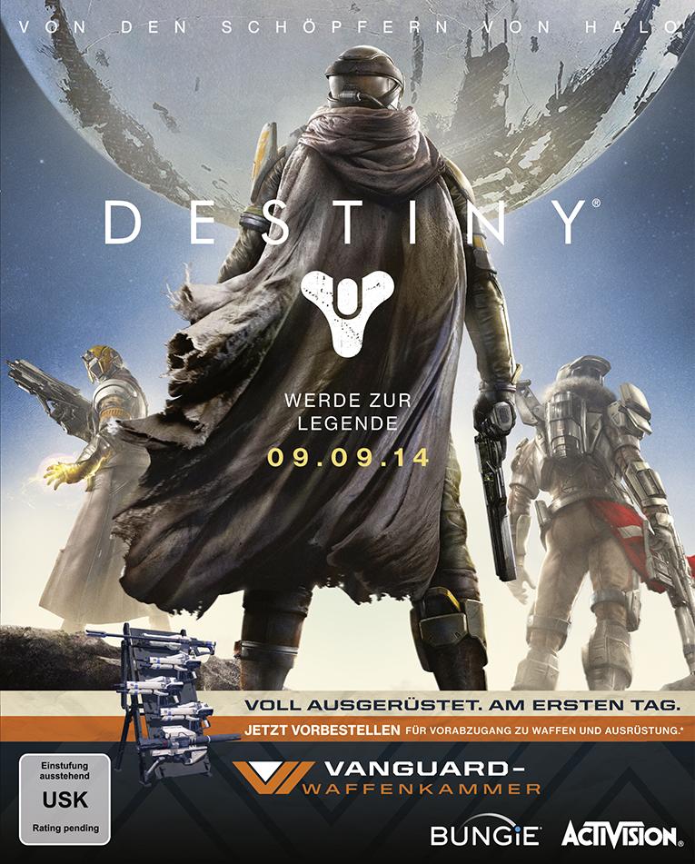 Destiny Vorbestellbox Vanguard