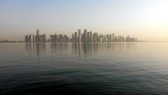 early morning in Doha