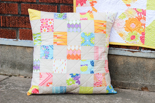 Vintage Summer Project Book - Trad Patch Pillow