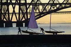 Packing Up. Forth Rail Bridge, Firth of Forth, Edinburgh - 21st July 2014