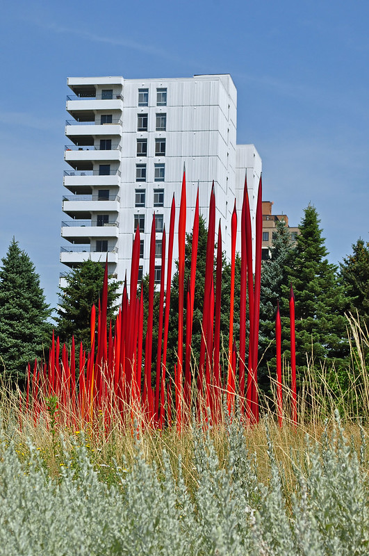 Chihuly 'Red Reeds' (5)