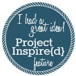 I was featured at Project Inspired!