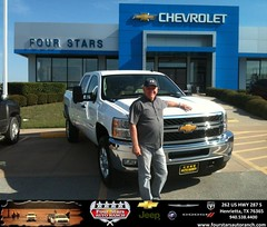 #HappyBirthday to Mike Erskine from Gene Klinkerman at Four Stars Auto Ranch!