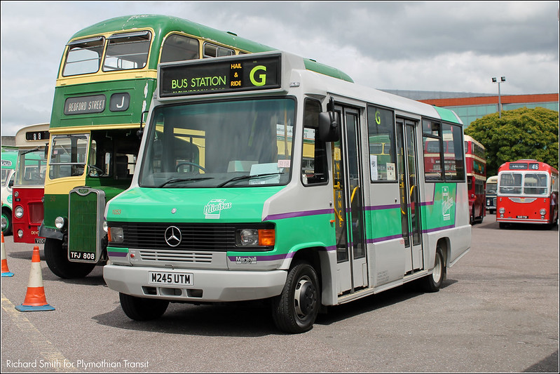 Exeter Bus Rally M745UTM