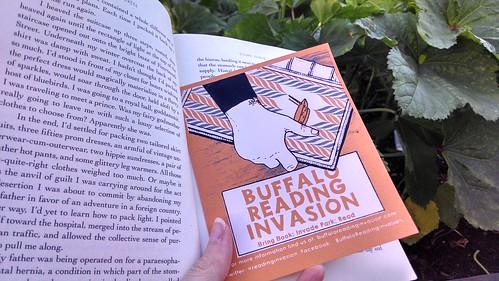 Buffalo Reading Invasion Bookmark