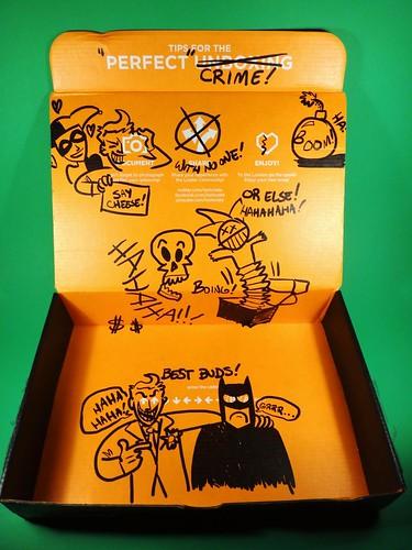 July 2014 Loot Crate: Villains box