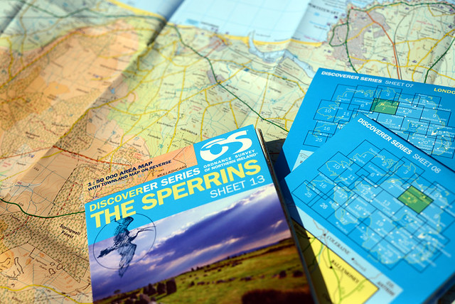 Northern Ireland Ordnance Survey Maps