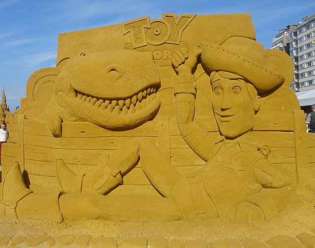 Sculpures sur sable Disney - News Touquet p.1 ! 14770379487_7dc1d03393_z