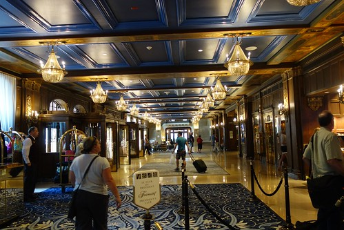 Lobby at the Château Frontenac
