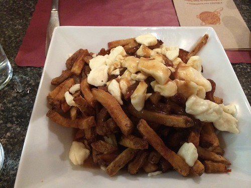 First ever Poutine