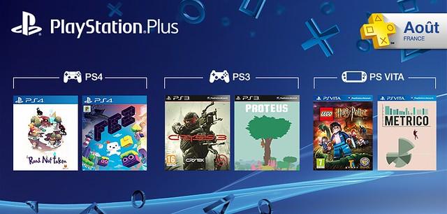 PlayStation Plus aout
