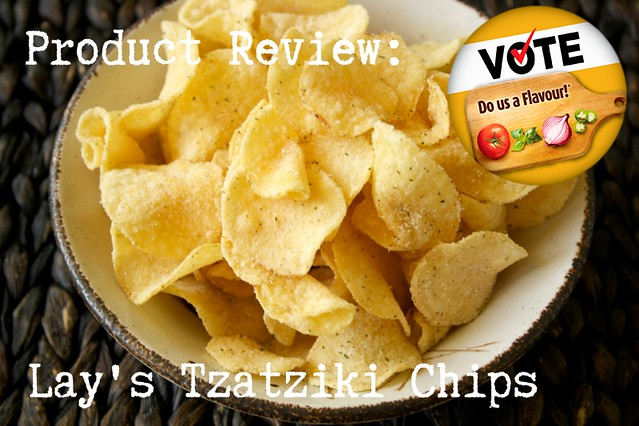 Product Review: Lay's Do Us A Flavour Tzatziki Potato Chips